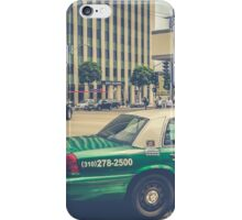 Beverly Hills - Taxi - Wilshire Boulevard Intersection II iPhone Case/Skin
