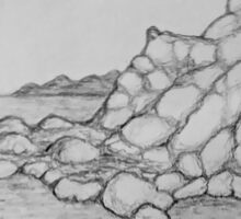 Saltwater Troll Cave Sticker