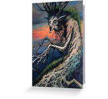 West virginia Ent/treecreep Greeting Card