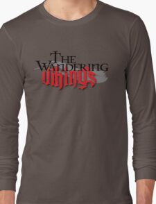 Wandering Vikings Podcast logo Merch Long Sleeve T-Shirt