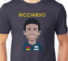 Daniel Ricicardo 2016 - colour Unisex T-Shirt