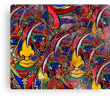 Indian Art - My Ancestors Are Within Me Canvas Print
