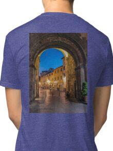 Midnight blue Tri-blend T-Shirt