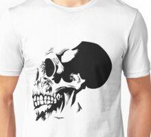 Skull Detailed Ink Illustration Unisex T-Shirt