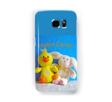 Happy Easter Chick & Bunny Samsung Galaxy Case/Skin