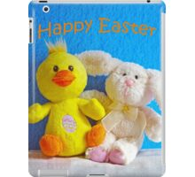 Happy Easter Chick & Bunny iPad Case/Skin