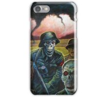 zombie troopers iPhone Case/Skin