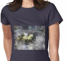Magick Ripples Womens Fitted T-Shirt