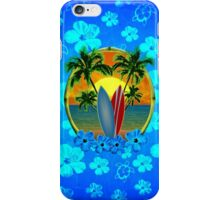 Surfing Sunset Honu iPhone Case/Skin