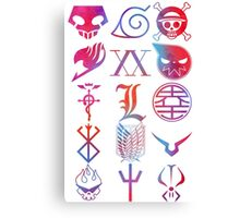 Anim_Logos_Color Canvas Print