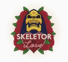 Skeletor is Love One Piece - Short Sleeve