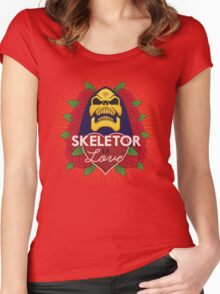 Skeletor is Love Women's Fitted Scoop T-Shirt
