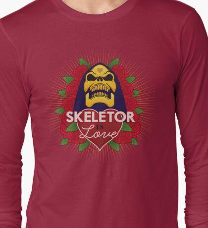 Skeletor is Love Long Sleeve T-Shirt
