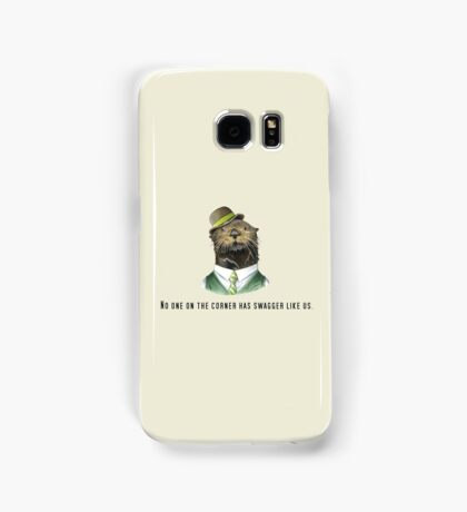 No one on the corner has swagger like us. Samsung Galaxy Case/Skin