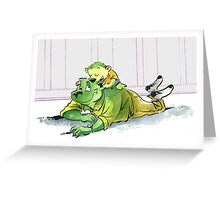 Dad, I have to tell you something! Greeting Card