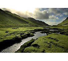 Spring in Scottish Highlands Photographic Print