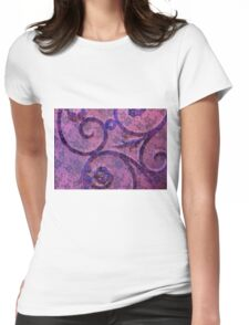 Wrought Lace Womens Fitted T-Shirt