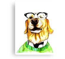 World's Smartest Dog Canvas Print