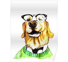 World's Smartest Dog Poster