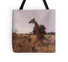 Giraffe - Kenya Tote Bag