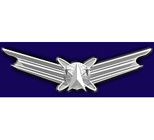 SPACE, American, Air Force, Basic, Space Operations Badge, US, USA, America, American Photographic Print