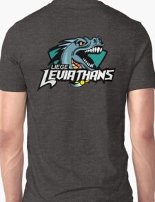 Liege leviathans quidditch - logo in the back Unisex T-Shirt