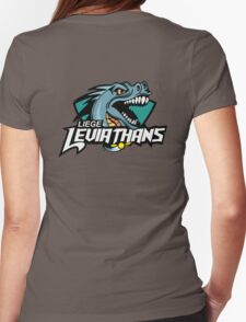 Liege leviathans quidditch - logo in the back Womens Fitted T-Shirt