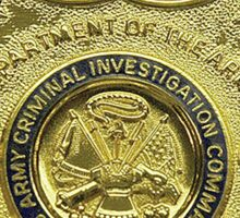 AMERICAN, US, USA, Army, Criminal Investigation Command, CID, Agent, Military Badge Sticker