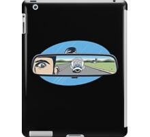 rearview mirror iPad Case/Skin