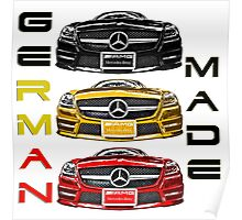 BENZ GERMAN MADE Poster