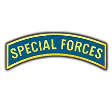 USA, US, ARMY, Special Forces, Arm Badge Photographic Print