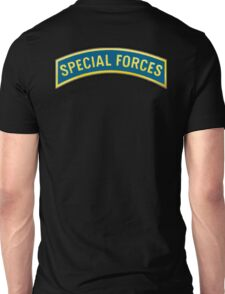 ARMY, AMERICAN, Special Forces, Arm Badge, Black Ops, USA, US, Unisex T-Shirt