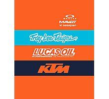 Team TLD KTM Photographic Print