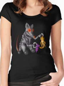 Cat and Mouse Women's Fitted Scoop T-Shirt
