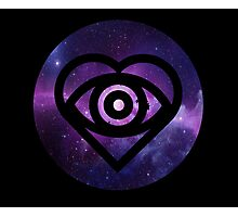 All Time Low Future Hearts Logo (Galaxy Print) Photographic Print