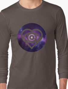 All Time Low Future Hearts Logo (Galaxy Print) Long Sleeve T-Shirt