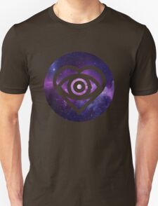 All Time Low Future Hearts Logo (Galaxy Print) Unisex T-Shirt