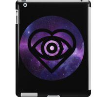 All Time Low Future Hearts Logo (Galaxy Print) iPad Case/Skin