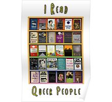 I Read Queer People Poster