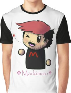 Markiplier - Red - Fan items! Graphic T-Shirt