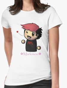 Markiplier - Red - Fan items! Womens Fitted T-Shirt