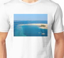 Isolated dream resort in the Maldives, Laccadivian Sea Unisex T-Shirt