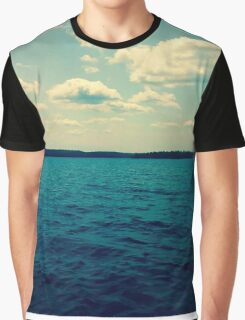 On the water Graphic T-Shirt