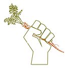Veggie Permaculture Fist of Solidarity  by 321Outright