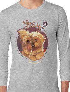 Trufa the Yorkie Long Sleeve T-Shirt