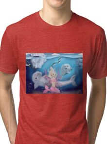Arctic Sea Fairy Tri-blend T-Shirt