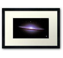 Sombrero Galaxy Framed Print