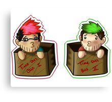 Septiplier-in-a-box Fan Items 3! Canvas Print