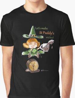 St Patrick's Day- Wicked Witches Graphic T-Shirt