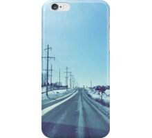 Winter Drive iPhone Case/Skin